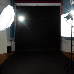 Black Studio Background