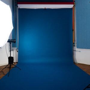 Blue Studio Background